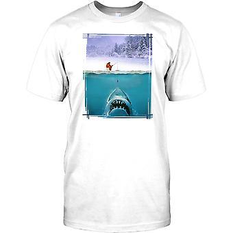 JAWS parodi - Isfiskaren - roliga barn T Shirt