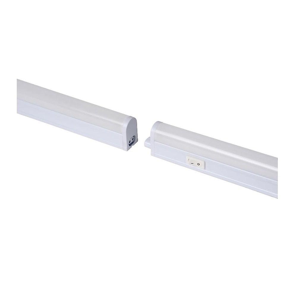 Lucide Kinny-LED moderne Rectangle blanc matière synthétique sous un éclairage armoire