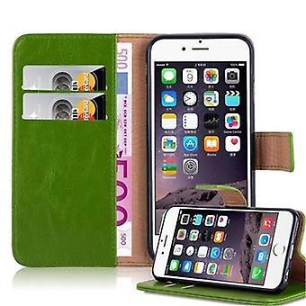 Cadorabo sag for Apple iPhone 6 / iPhone 6S sag dække - telefon sag med magnetisk lås, stå funktion og kortrum - Sag Cover Beskyttende sag sag Bog Folding Style