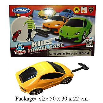 Kids Travel Suitcase Lamborghini