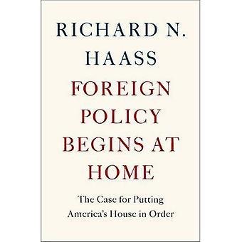 Buitenlands beleid begint thuis