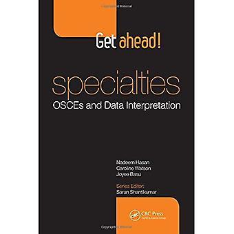 Seguir em frente! ESPECIALIDADES OSCEs e interpretação dos dados (GAH)