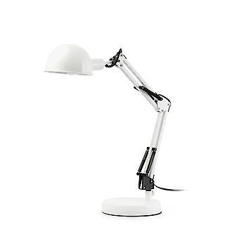 Faro - Baobab vitt skrivbord lampa FARO51908