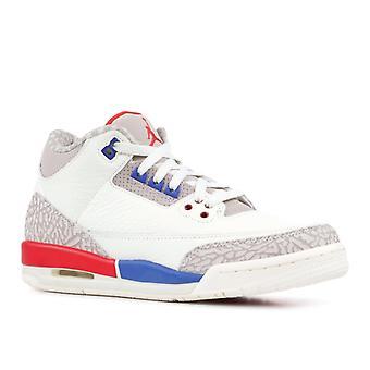 Air Jordan 3 Retro Gs 'Charity Game' - 398614-140 - Shoes
