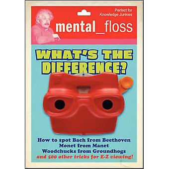 Mental Floss Whats the Difference by Pearson & Will