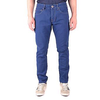 Jacob Cohen Ezbc054127 Men's Blue Cotton Jeans