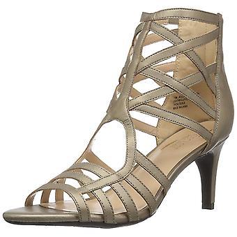 Aerosoler dame akklamation læder åben tå formelle Strappy sandaler