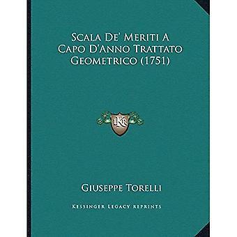 Scala Deacentsa - en cent Meriti en Capo Dacentsa - en Centsanno Trattato Geometrico (1751)