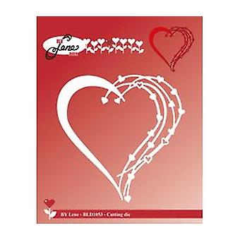 By Lene Love Heart Cutting Die