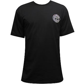 Crooks & Castles Pope T-Shirt Black Multi