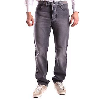 John Galliano Ezbc189015 Men's Grey Denim Jeans