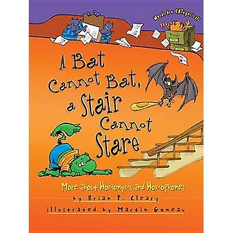 A Bat Cannot Bat - a Stair Cannot Stare - More about Homonyms and Homo