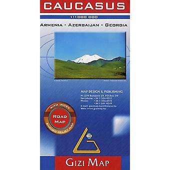 Caucasus - Armenia - Georgia - Azerbaijan - 9789630296687 Book