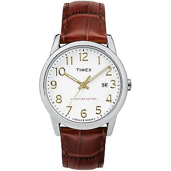 Timex Watch easy reader signature 38 mm leather TW2R65000