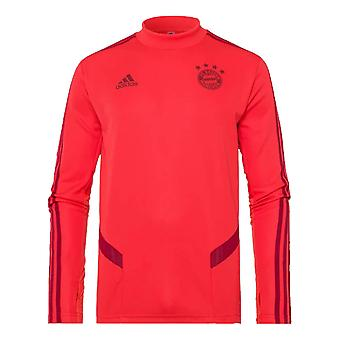 2019-2020 Bayern de Munique Adidas Training Top (vermelho)-Kids