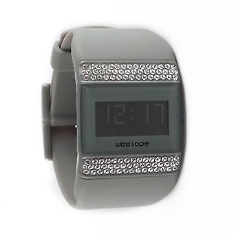 Wize and Ope Classic  Grey Digital  Watch WO-ALL-3S