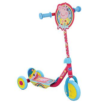 Peppa Pig Deluxe Tri Scooter MV Sports Ages 3 Years+ Pink