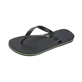 Ipanema Flag II Mens Flip Flops / Sandals - Black