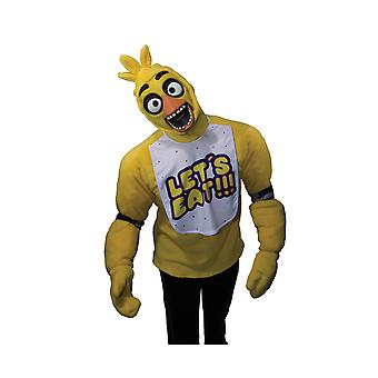Adult Chica Costume - Five Nights At Freddy's
