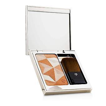 Cle de Peau Luminizing face Enhancer (caso + recarga)-# 15 Golden Apricot-10g/0.35 Oz