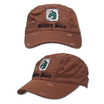 Baseball Cap - Attack on Titan - New Military Police Brown Toys Licensed ge32221