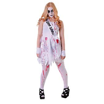 Bristol Novelty Youths Girls Bloody Prom Queen Costume