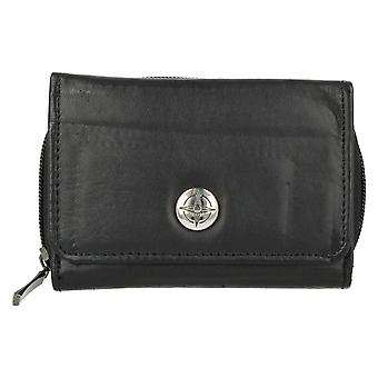 Ladies Compass Card Coin Holder Purse PUR306-bk