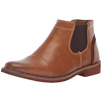 Deer Stags Kids' Marcus Memory Foam Dress Comfort Cap Toe Chelsea Boot