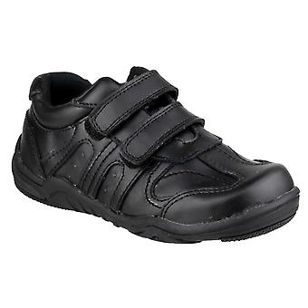 Mirak Kids Steve  Touch Fastening Shoe Black