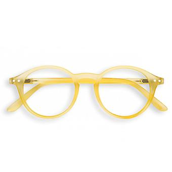 Izipizi Letmesee #d Yellow Chrome Reading Glasses