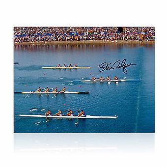 Sir Steve Redgrave Signed Photo: Sydney Photo Finish
