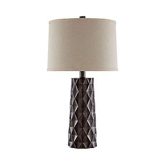 Brown tippton table lamp stein world