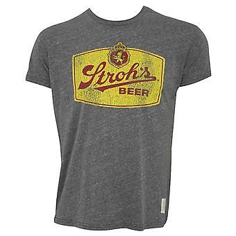 Stroh's Retro Grey Tee Shirt