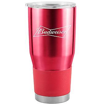 Budweiser 30 Oz Metal Tumbler Cup