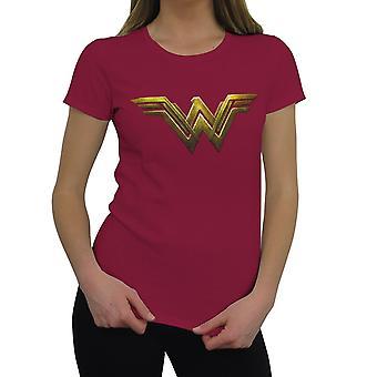Wonder Woman Justice League Logo Women's Camiseta