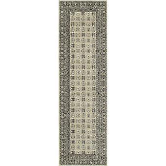 Richmond 4440s ivory/grey indoor area rug rectangle 7'10