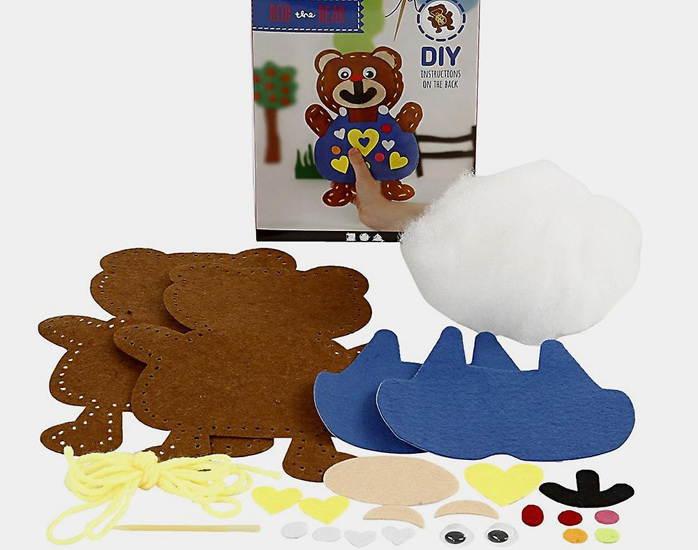 Kids Sewing /& Craft Kit to Make Bob the BearSewing for KidsSewing for Kids