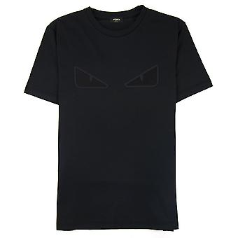 Fendi mesh bug Eye T-shirt svart