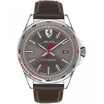 Scuderia Ferrari Men's Watch Pilota 0830488