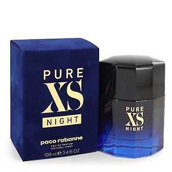 Pure Xs Night By Paco Rabanne Eau De Parfum Spray 3.4 Oz (men) V728-545438