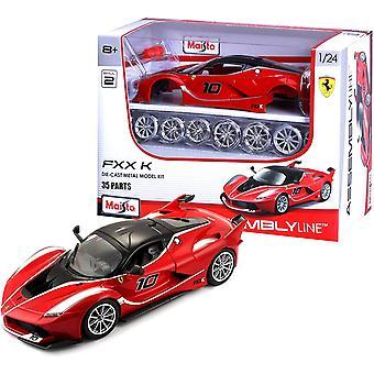 Maisto M39132 1:24 Ferrari FXX-K-malli sarja, punainen