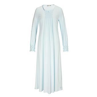 フェロー 3883037-10840 女性's クリスタルブルーコットンナイトガウンラウンジウェアナイトドレス