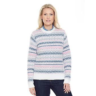Amber Ladies Fairisle Jumper