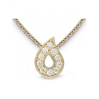 QUINN - Necklace - Ladies - Yellow Gold 750 - Top W. (G)si. - 7271599