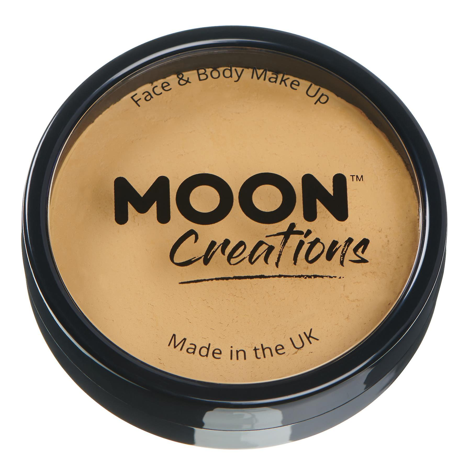 Moon Creations - Pro Face & Body Paint Cake Pots - Golden Sand