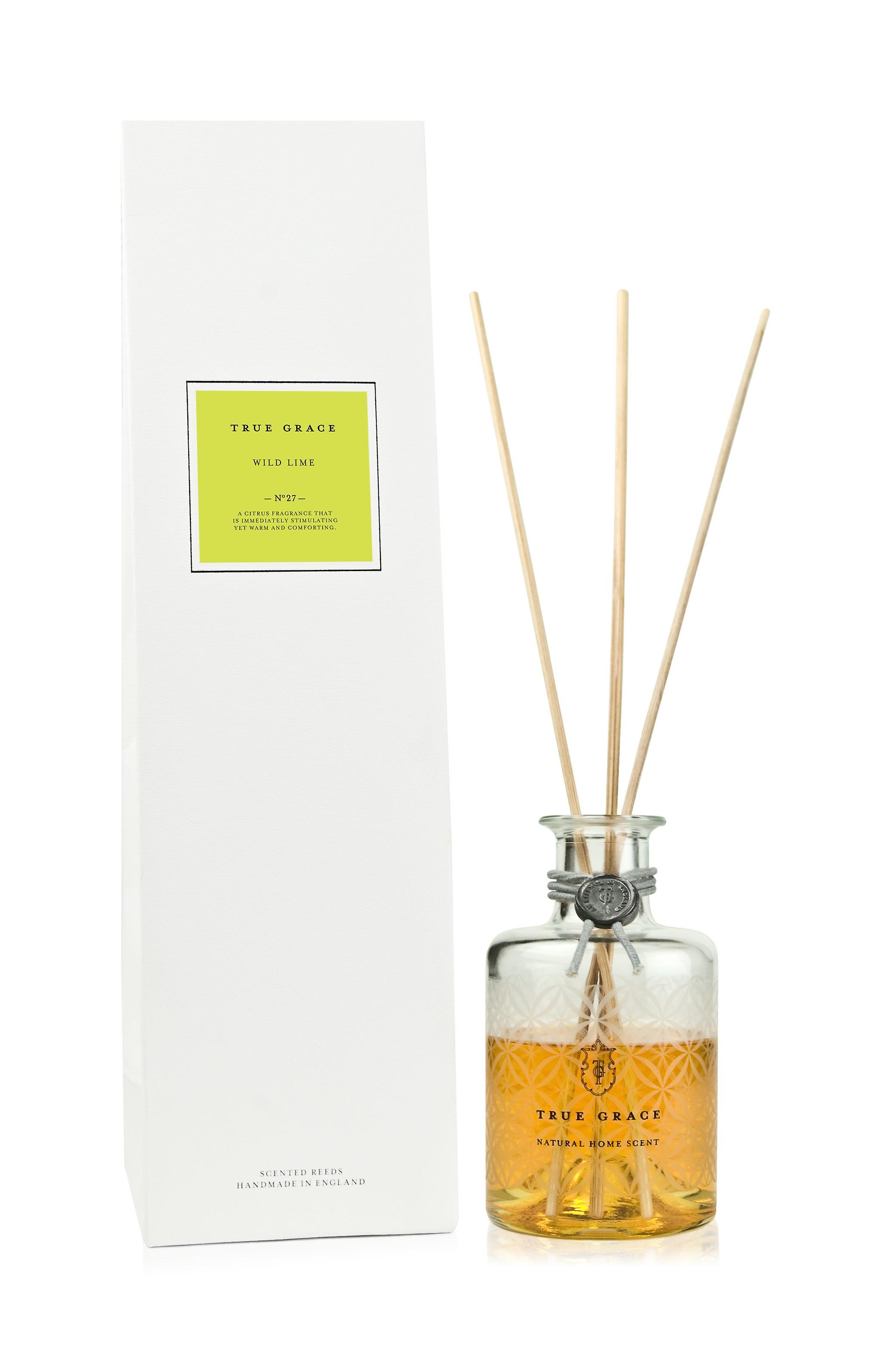 Village room scent diffuser with rods wild lime - wild lime 200ml