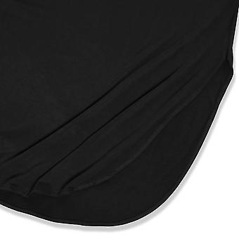 HUSKARY Womens Casual Pocket Beach Long Dress Short Sleeve Split Loose Maxi D...