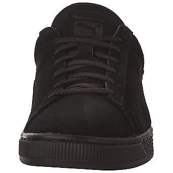 جلد الغزال الكلاسيكية بوما رجالية شارة حذاء، اللازورد الأزرق-بوما أسود، 9 م لنا