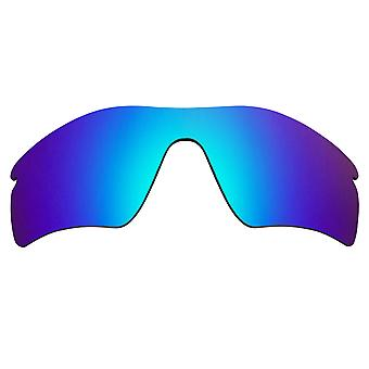SeekOptics Replacement Lenses for Oakley RADAR PATH Polarized Blue Mirror UV400