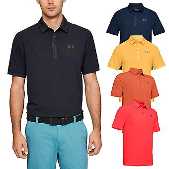 Under Armour Mens Playoff Vented Golf Ventilated Polo Shirt